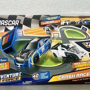 Nascar Adventure Force Crash Racers 8 Track & Car